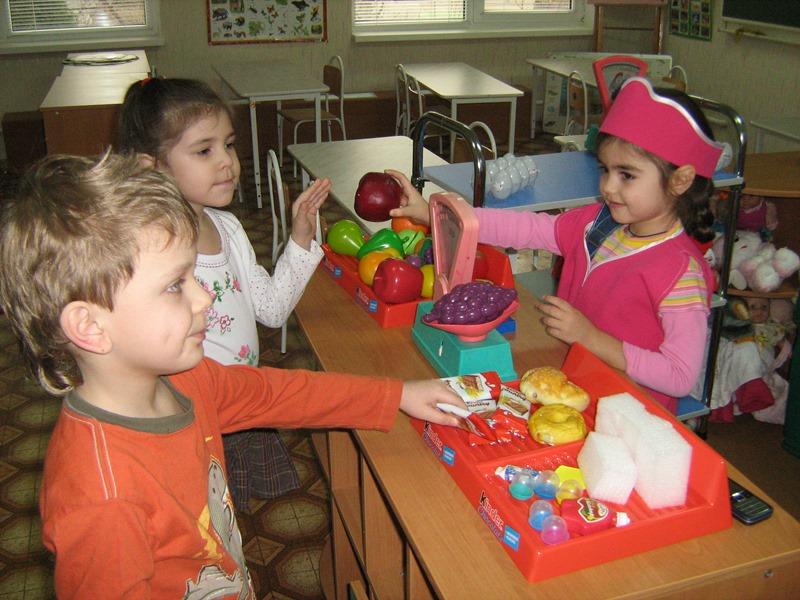 МАДОУ ЦРР-детский сад №70 игра в магазин
