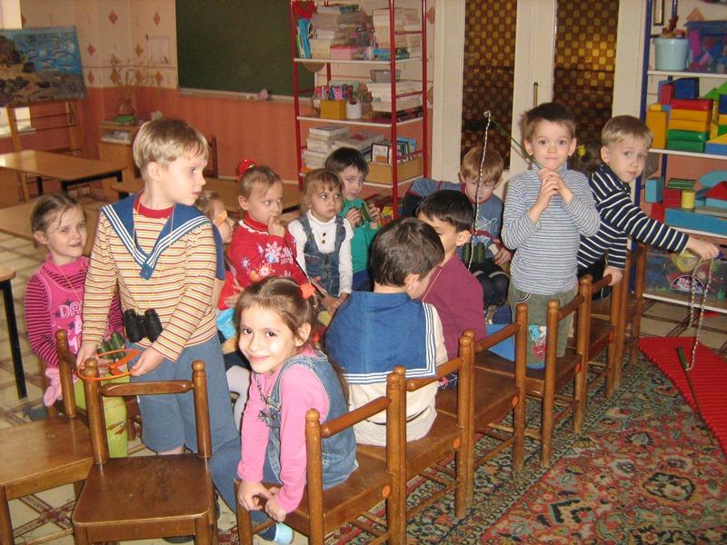 МАДОУ ЦРР-детский сад №7игра в пароход