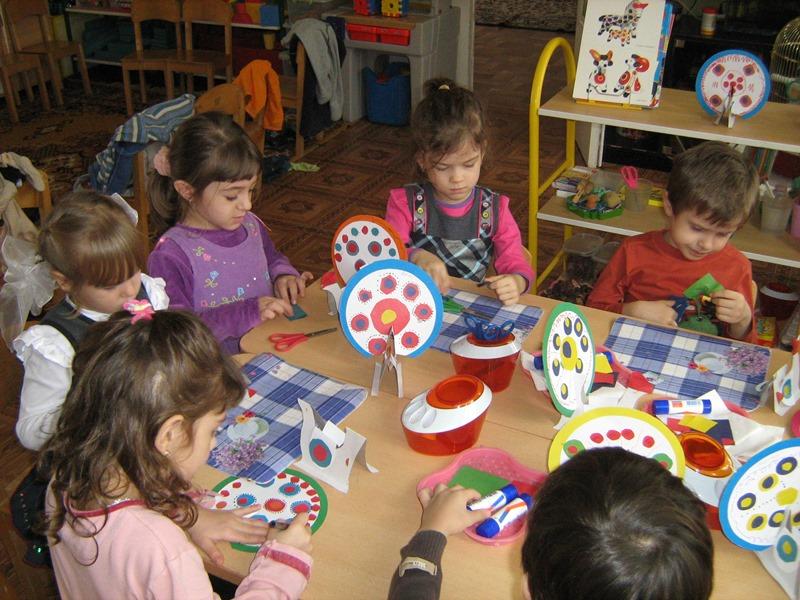 МАДОУ ЦРР-детский сад №70 разукрашивание дымковских игрушек