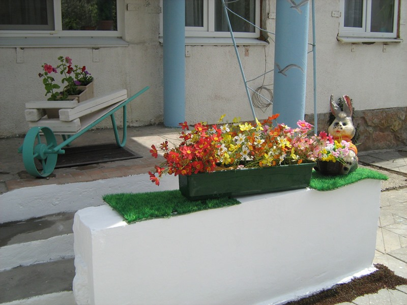 МА ДОУ ЦРР - детский сад № 70 дизайн территории 4