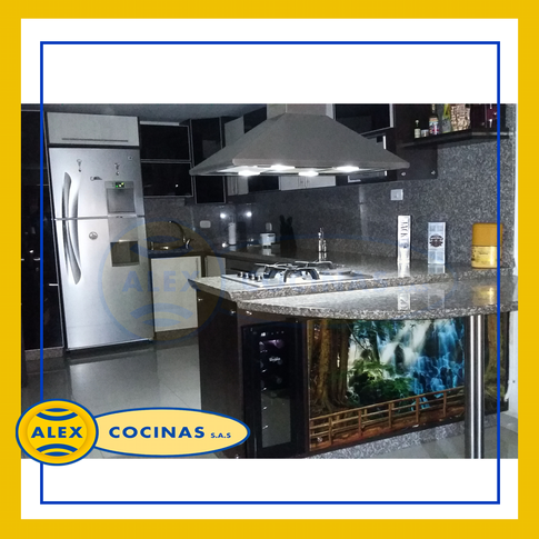 Alex Cocinas - Cocinas en L
