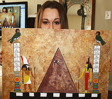 New art #Paintings #acrlyics #momoski #Egyptian #EgyptianGods #SupportTheMovement #EyeOfHorus Reques