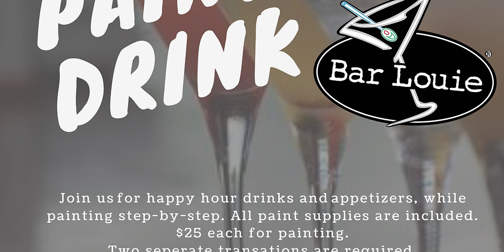 Paint & Drink at Bar Louie