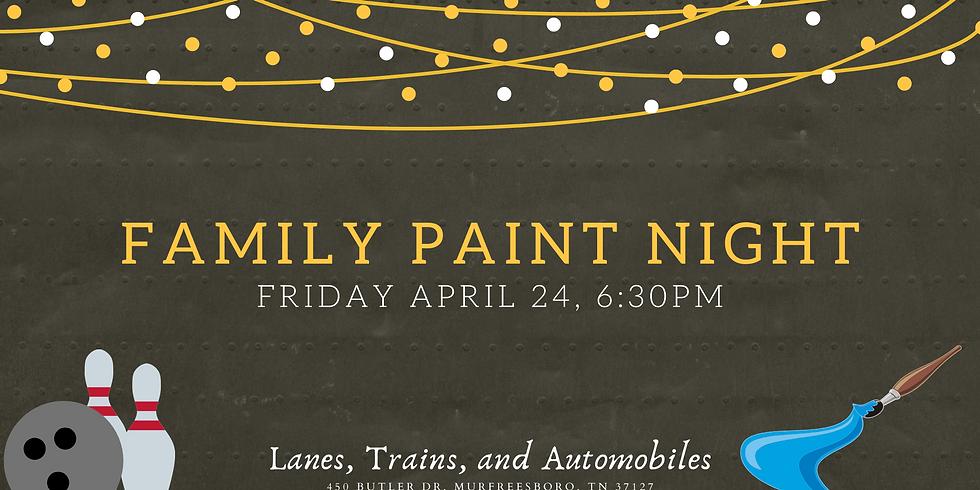 Family Paint Night- LTA x MomoskiArt