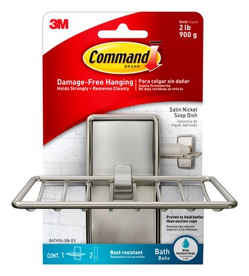 Command Brand soap dish