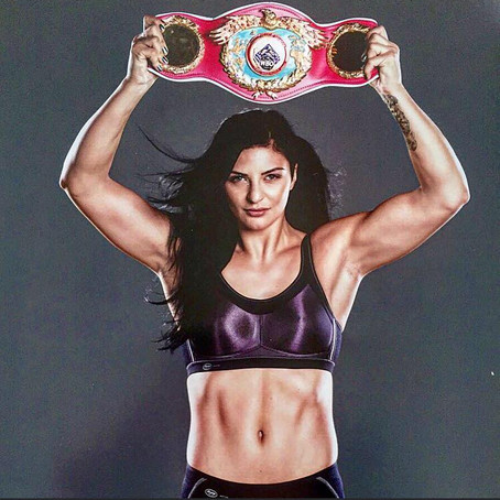 Christina Hammer Shines as World Champion Boxer and Lingerie Model