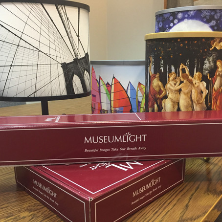 Museumlight Is Beautiful Art That Lights Up Abode's Decor