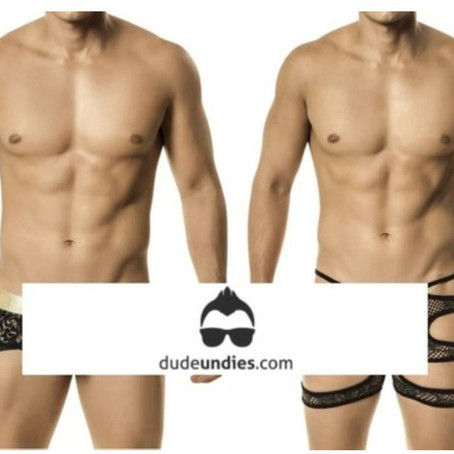 Dudeundies Lacey Manly Underwear: Check Out This Hot Fashion Trend