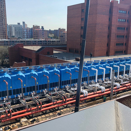NYC Antimicrobial Cooling Tower Installed Will Curb Legionnaires'