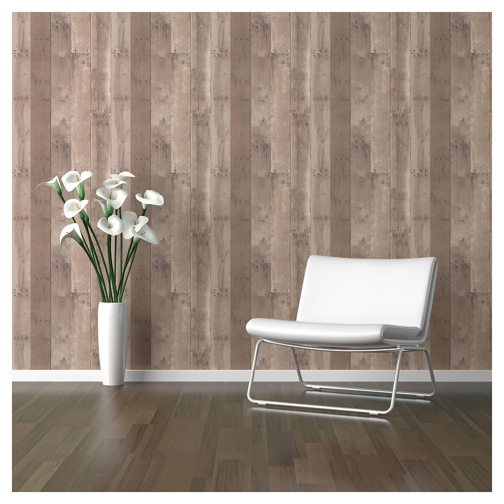 wood look wall covering
