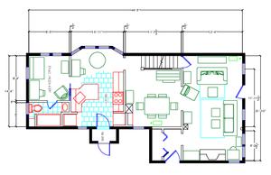Floor Plan by Carol Ruth Weber