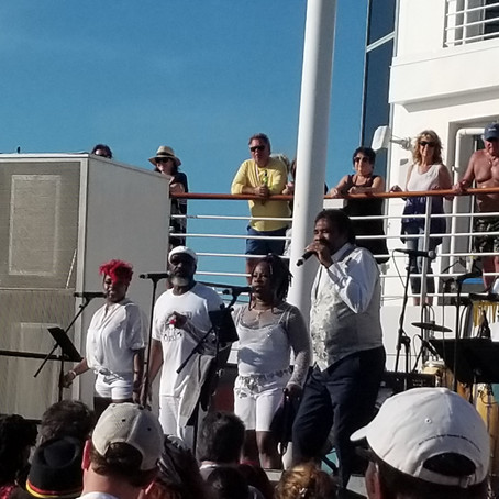 George McCrae Belts Out Disco Cruise Soul Enjoyment