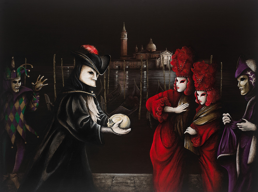 Carnevale Di Venezia by Michael Cartellone