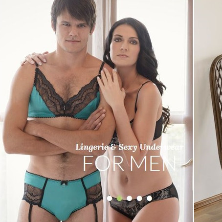 Lingerie For Men: Homme Mystere Mangerie Puts A Bow On It