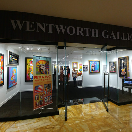 Meet Celebrity Artists In-Person in Hard Rock AC at Wentworth Gallery [Video]