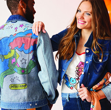 Peter Max Celebrates 70 Years of Wrangler Jeans [Guardian Liberty Voice]