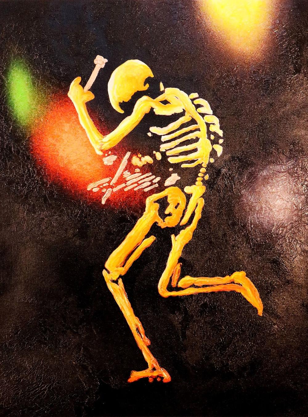 Grateful Dead Drummer Mickey Hart Creates Painting Rhythm