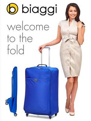 Biaggi Leggero Flat Folding Luggage is a Travel Dream [Review]