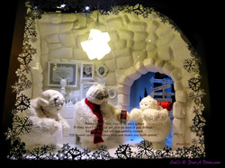 Saks Fifth Avenue X-mas Windows