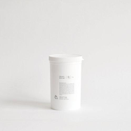 青森ヒバ 浴鹽 (ヒバ精油配合) HIBA WOOD BATH SALT
