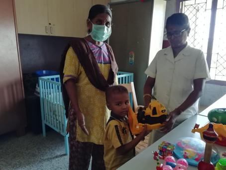 Donation At ICH - Chennai