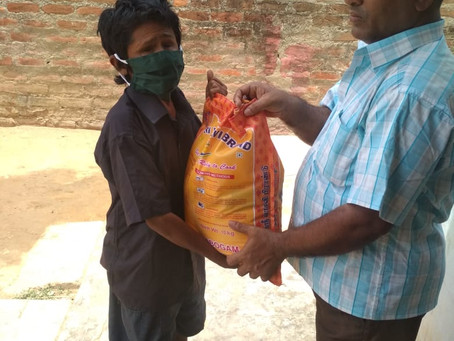 Mask Donation with Aware India