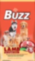 อาหารสุนัข บัซซ์ รสเนื้อเเกะ