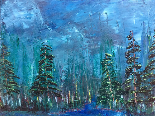 """Quiet Before The Storm 16""""x20"""""""