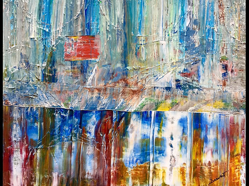 """Abstract IV  16""""x20"""""""
