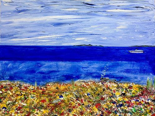 """Coral Dream  16""""x20"""""""