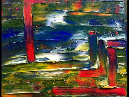 "Abstract II  16""x20"""