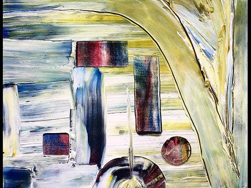 """Abstract III  16""""x20"""""""