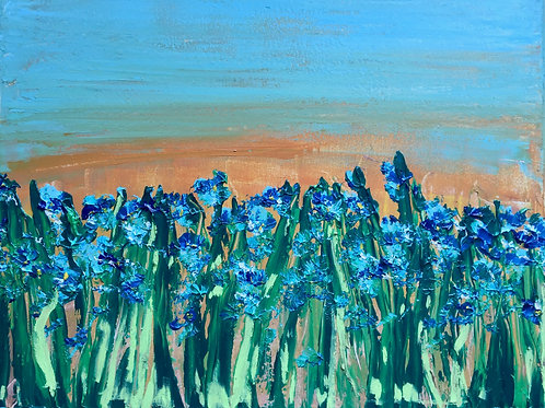 "Of All The Flowers Iris  16""x20"""