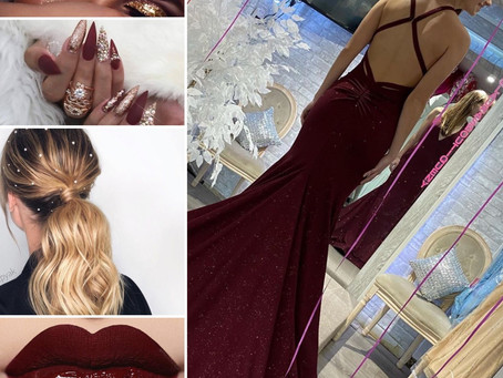 Trendy prom/sweet16 hair and makeup to match your Lauras Boutique perfect Gown ideas