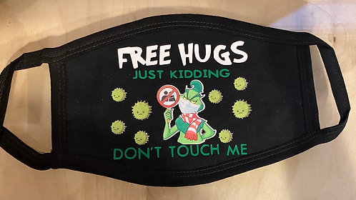Free Hugs Face Mask
