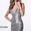 Thumbnail: Backless Fitted Sequin Cocktail Dress