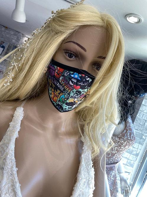 Cartoon Face Mask