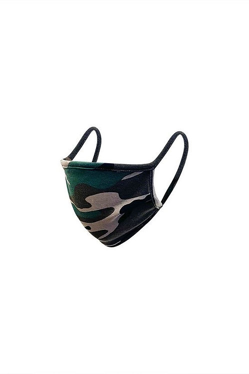 Reusable Adult Mask (Army Green)