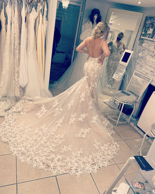 Bridal Gown on customer