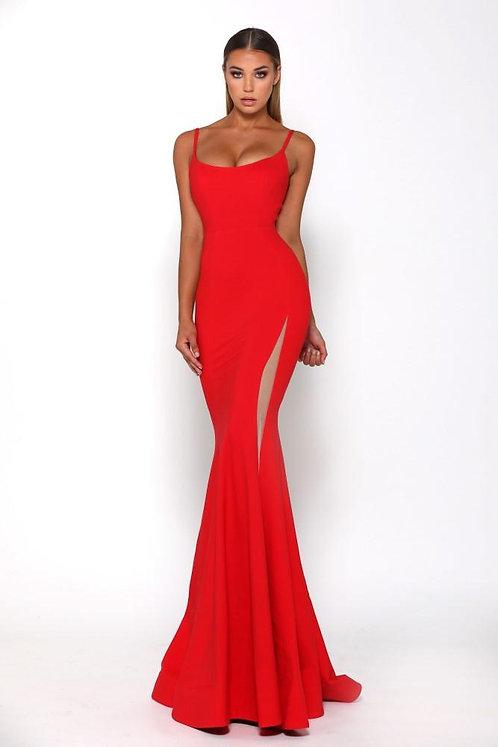 Indira Gown Red