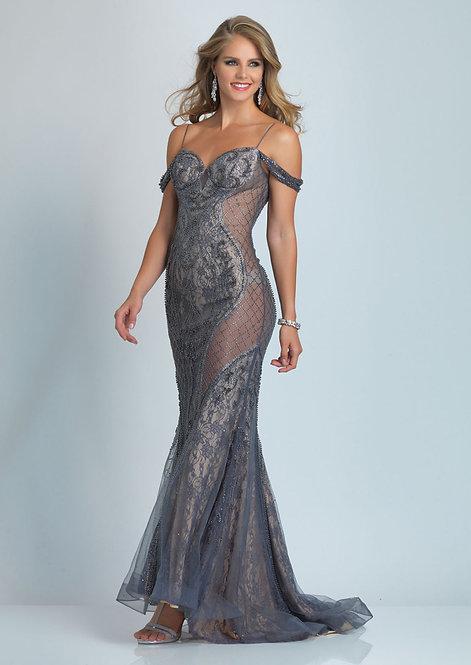 Mid Back Sweetheart Dress