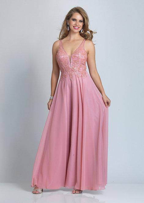 Embellished Bodice Dress