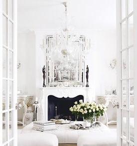 Inside photo of bridal shop