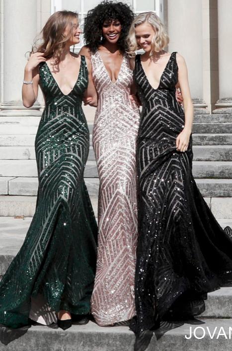 Mesh embellished Dress with sequins