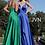 Thumbnail: PlungingV Neck Embellished A line Bridesmaids Dress