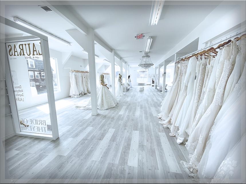inside Lauras Boutique & Bridal