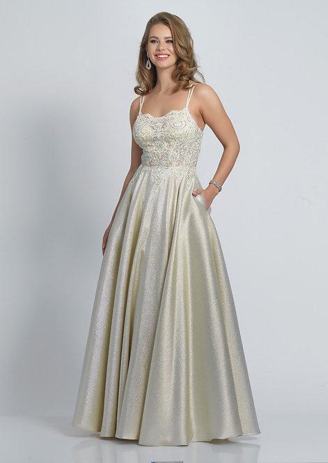 Lace Top Cutout Back Dress
