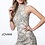 Thumbnail: High Neck Embellished Fitted Short Dress
