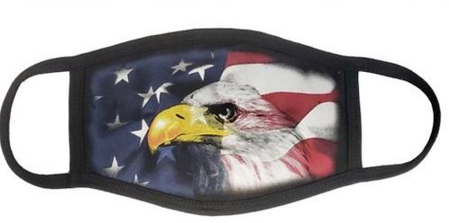 American eagle & American Flag Face Mask