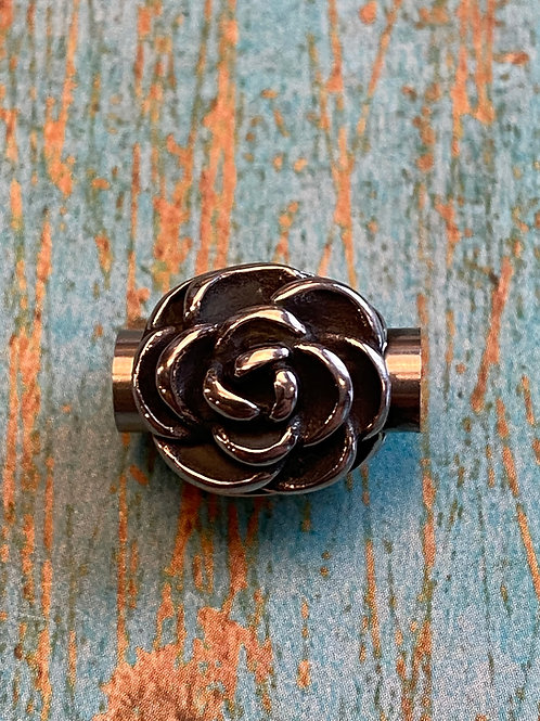 4mm Stainless Steel Magnetic Rose Clasp